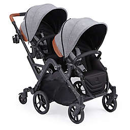 Contours® Curve Double Stroller in Graphite