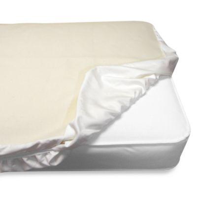Naturepedic® Organic Waterproof Fitted Crib Pad Cover