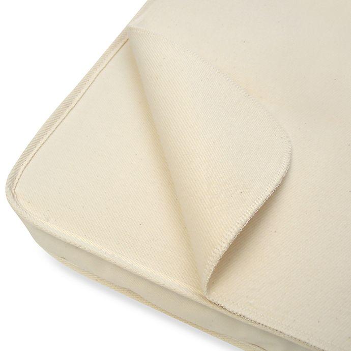 Alternate image 1 for Naturepedic® Waterproof FlatBassinet Pad Cover