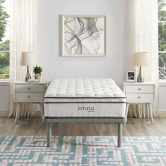Alternate image 1 for Modway Jenna 10-Inch Pillow Top Mattress