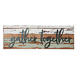 Gather Together Reclaimed Wood Wall Art