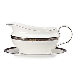 Lenox® Vintage Jewel™ Gravy Boat with Stand