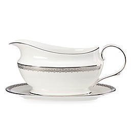Lenox® Lace Couture Sauce Boat and Stand