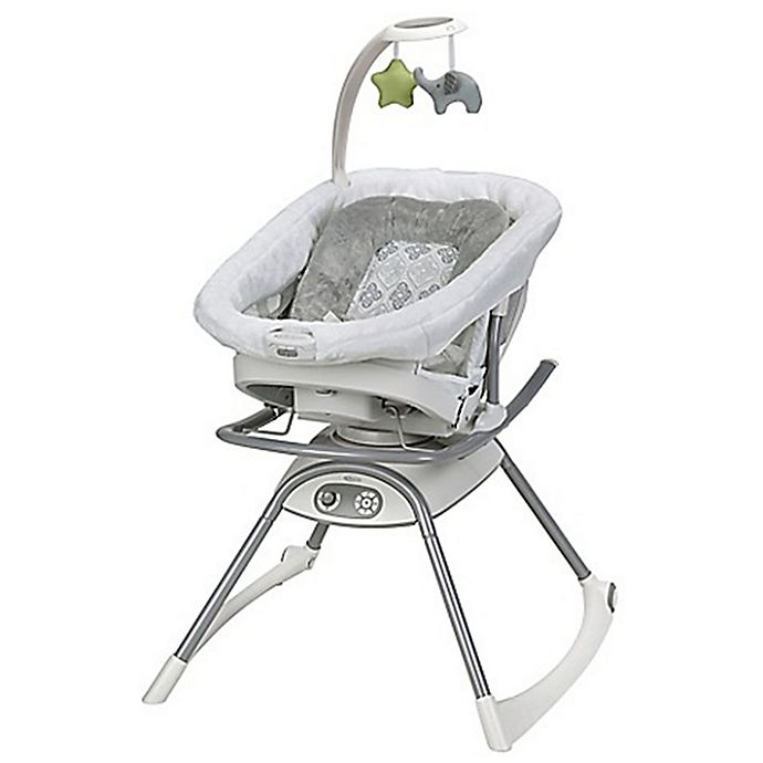 Alternate image 1 for Graco® Duet Glide™ LX Gliding Swing in Sterling
