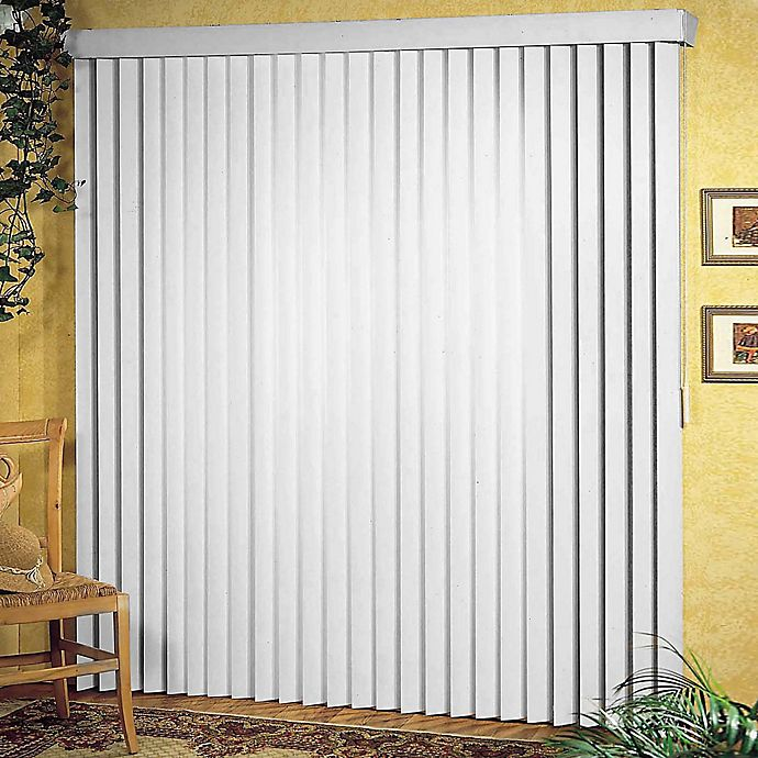 Alternate image 1 for Patio Ribbed Vertical Blinds
