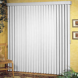Patio Ribbed Vertical Blinds