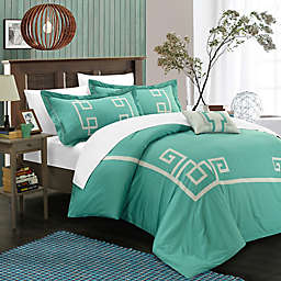 Chic Home Edmonton Duvet Cover Set