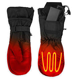 ActionHeat Battery Heated Mittens in Black