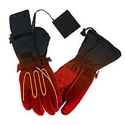 ActionHeat Men's Battery Heated Gloves in Black