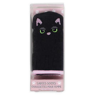 Gertex® Ladies' Cat Critter Crew Socks