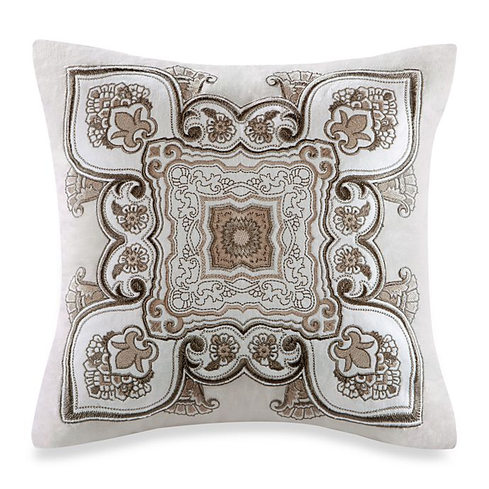 Alternate image 1 for Echo™ Odyssey Square Throw Pillow in Neutral