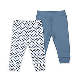 The Peanutshell® 2-Pack Pants Set in Blue/Chevron