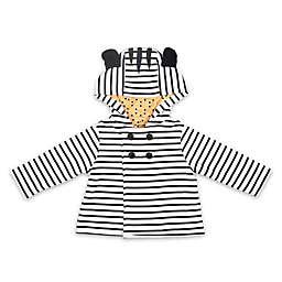 The Peanutshell® Zebra Stripe Jacket in Black/White