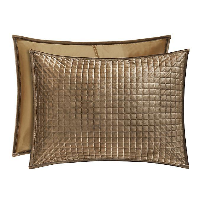 Alternate image 1 for J. Queen New York™ Glacier King Pillow Sham in Gold