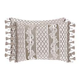 J. Queen New York Bel Air Oblong Throw Pillow in Sand