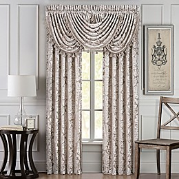 J. Queen New York Bel Air Window Curtain Panel Pair in Sand