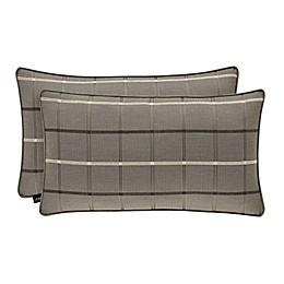 J.Queen New York™ Sutton Oblong Throw Pillow in Graphite