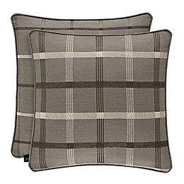 J.Queen New York™ Sutton Square Throw Pillow in Graphite