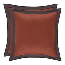J. Queen New York™ Brave European Pillow Sham in Rust