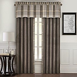 J. Queen New York™ Jaspen 84-Inch Rod Pocket Window Curtain Panel Pair in Grey