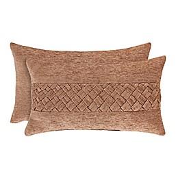 J. Queen New York™ Sunrise Boudoir Throw Pillow in Coral