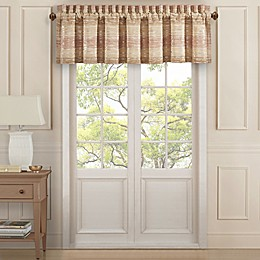 J. Queen New York™ Sunrise Rod Pocket Window Valance in Coral