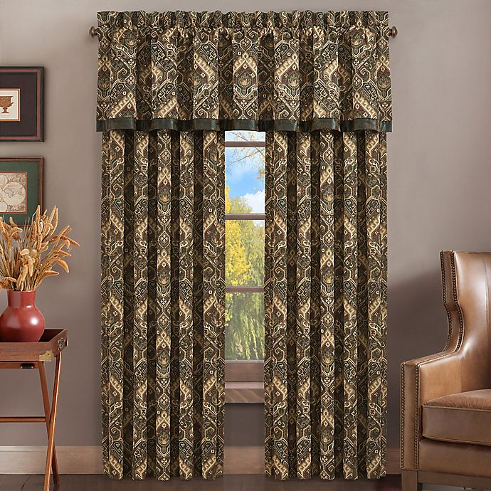 Alternate image 1 for J. Queen New York™ Taos 84-Inch Rod Pocket Window Curtain Panel Pair