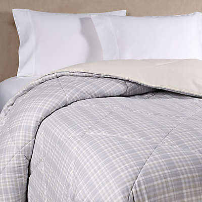 The Seasons Collection® HomeGrown™ Flannel Plaid Comforter in Neutral