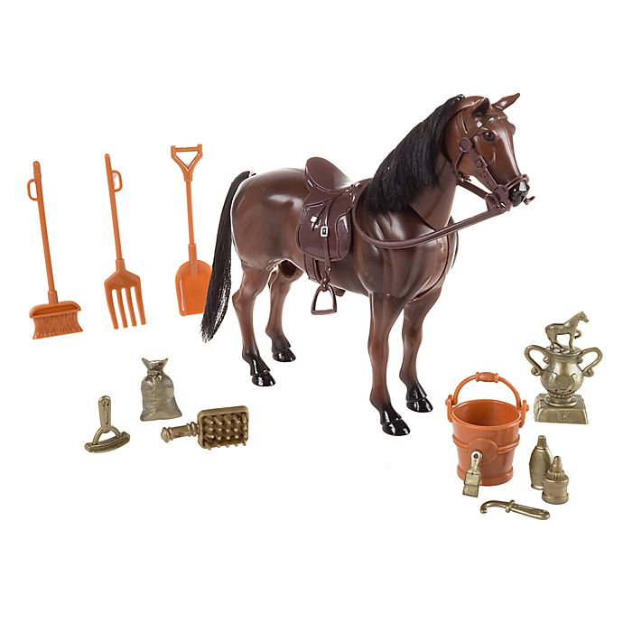 Alternate image 1 for Hey! Play! Toy Horse Set with Accessories