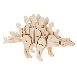 Hey! Play! 3D Wooden Stegosaurus Puzzle