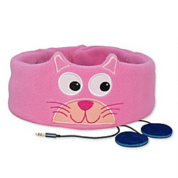 Snuggly Rascals Kitten Children's Volume Controlled Headphone Band in Pink