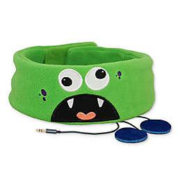 Snuggly Rascals Monster Kids Headphones in Green