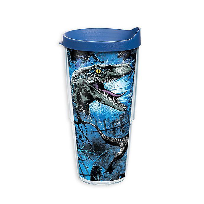 Alternate image 1 for Tervis® Jurassic World 2 Raptor 24 oz. Wrap Tumbler with Lid