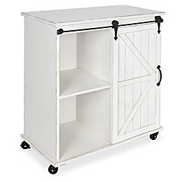 Kate and Laurel Cates Kitchen Cart/Storage Cabinet