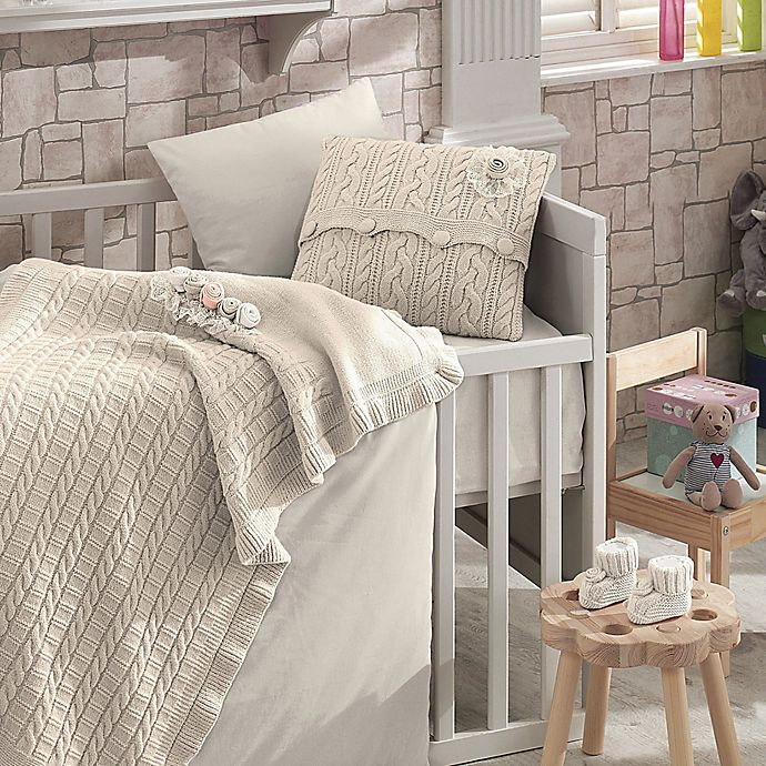 Alternate image 1 for Nipperland® Rose Garden 6-Piece Crib Bedding Set
