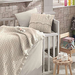 Nipperland® Rose Garden 6-Piece Crib Bedding Set