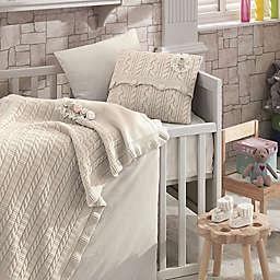 Nipperland® Rose Garden 6-Piece Crib Bedding Set in Beige