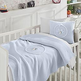 Nipperland® 6-Piece Teddy Bear Crib Bedding Set