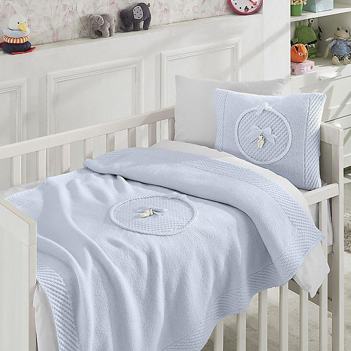 Alternate image 1 for Nipperland® 6-Piece Teddy Bear Crib Bedding Set