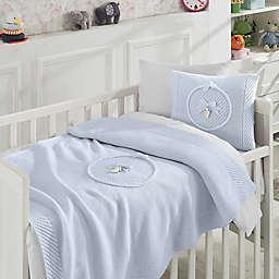 Nipperland® 6-Piece Teddy Bear Crib Bedding Set