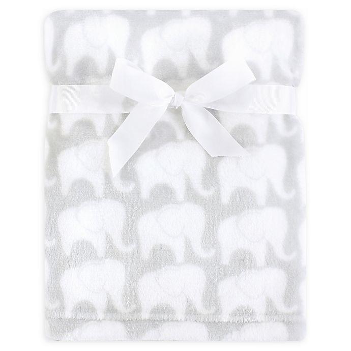 Alternate image 1 for Hudson Baby® Silky Plush Blanket