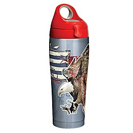 Tervis® Distressed American Flag 24 oz. Stainless Steel Water Bottle with Lid