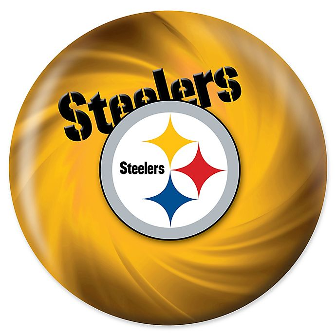 Alternate image 1 for NFL Pittsburgh Steelers Swirl 16 lb.Bowling Ball