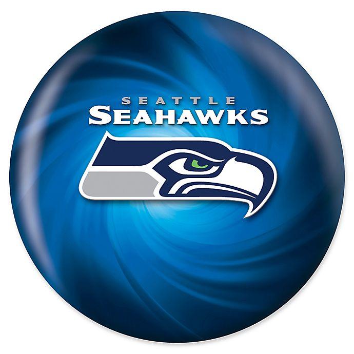 Alternate image 1 for NFL Seattle Seahawks Swirl 10 lb. Bowling Ball