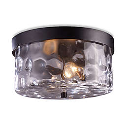 ELK Lighting Grand Aisle 2-Light Outdoor Flush Mount