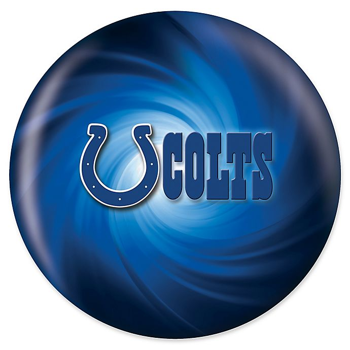 Alternate image 1 for NFL Indianapolis Colts 10 lb. Swirl Bowling Ball