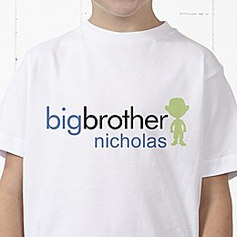 Big/Baby Brother & Sister Personalized Hanes® Youth T-Shirt