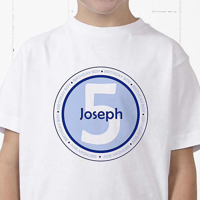 Alternate image 1 for It's Your Birthday! Personalized Hanes® Youth T-Shirt