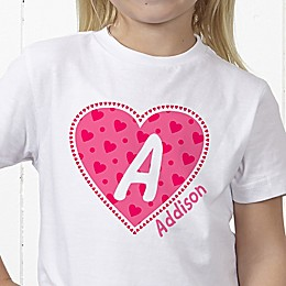 She's All Heart Personalized Hanes® Youth T-Shirt
