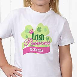 Little Irish Princess Personalized Hanes® Youth T-Shirt